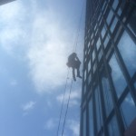 exterior window washing